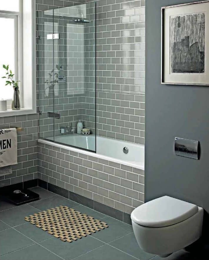 half glass shower screen  freestanding bath - google search
