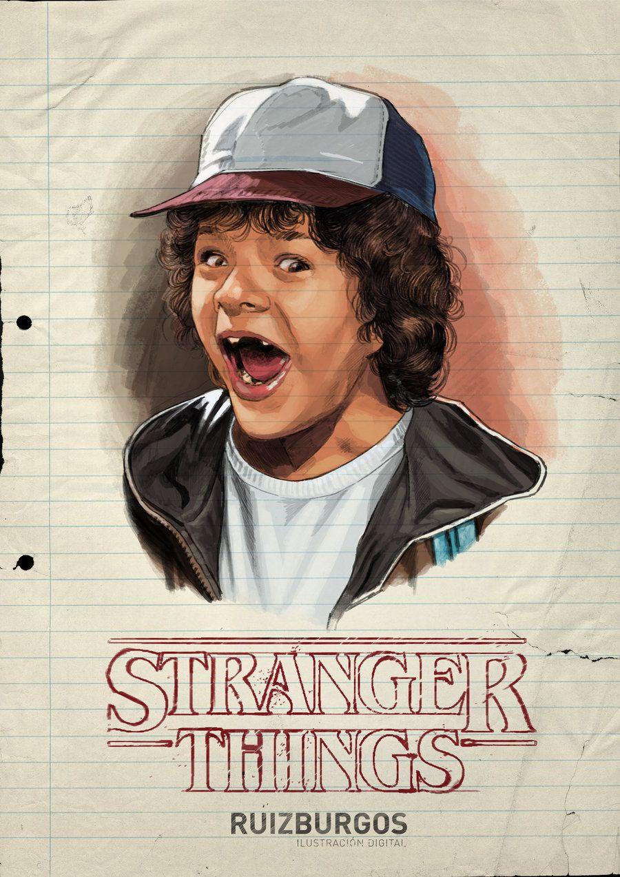Stranger Things fan art is a gorgeous realm of '80s aesthetics and character tributes