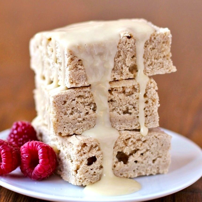 Healthy White Chocolate Brownies Or Blondies Desserts With Benefits Recipe Desserts Dessert Recipes White Chocolate Brownies