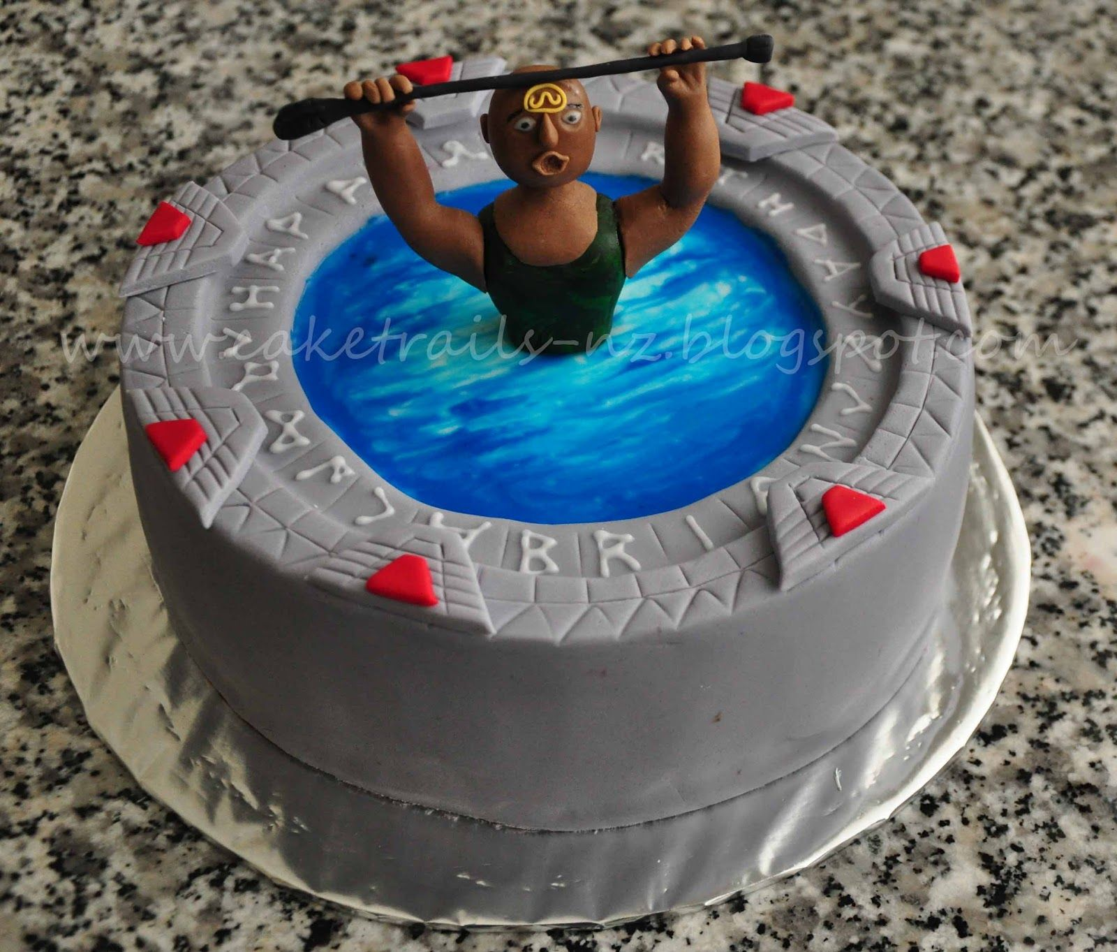 Cake Trails: Stargate cake