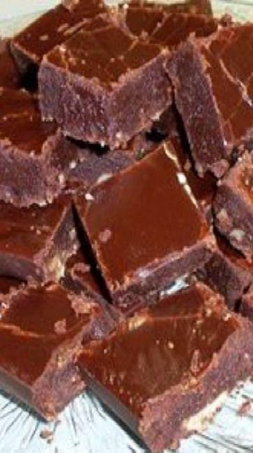 Old Fashioned Chocolate Fudge Recipe Fudge Recipes