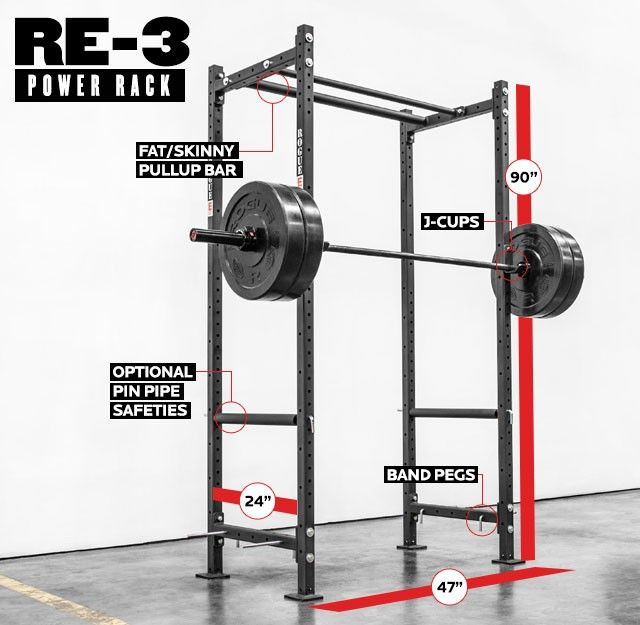 Found the perfect rack for my garage gym can t wait