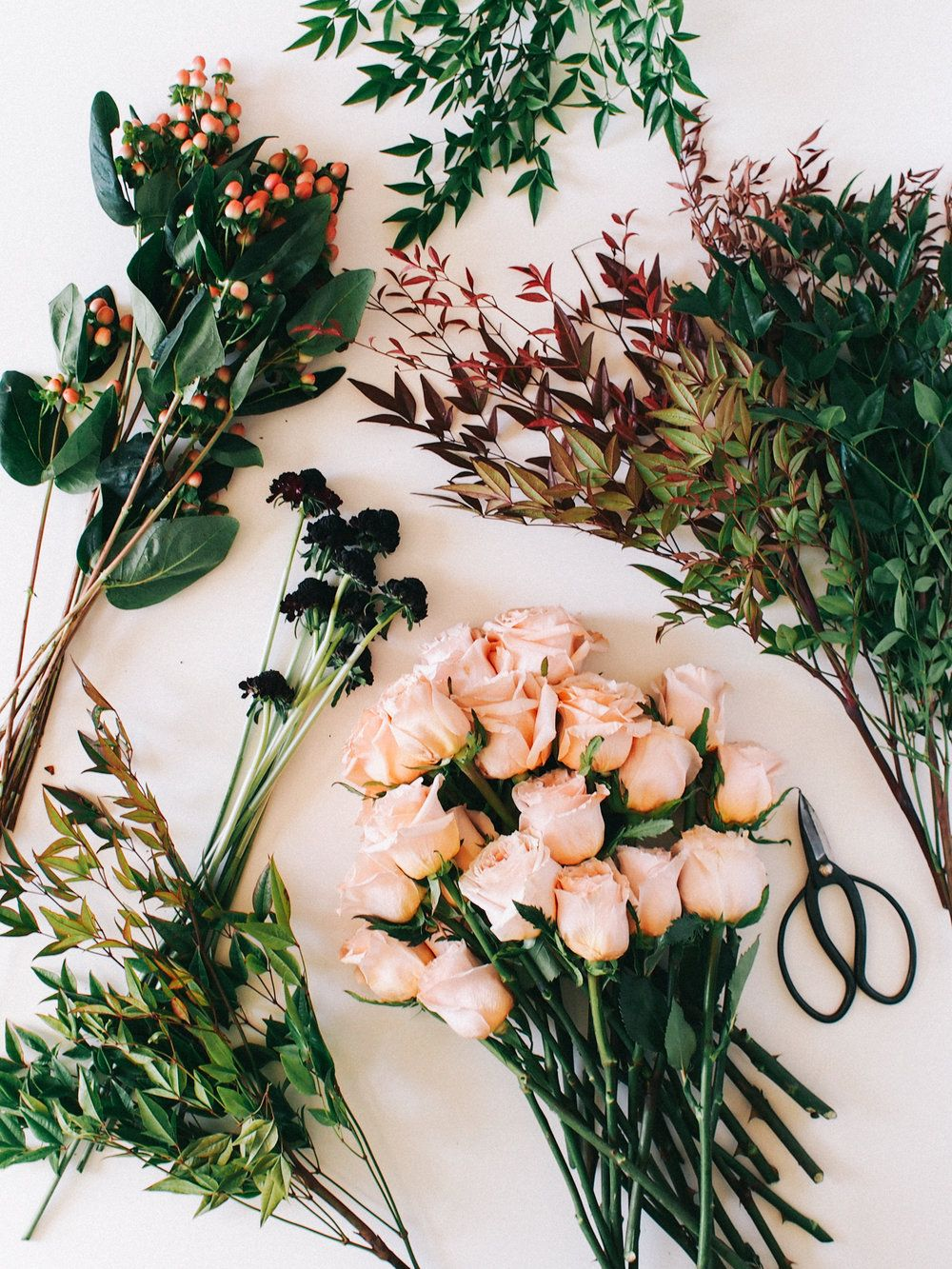 What I used to create my fall arrangement | A Fabulous Fete
