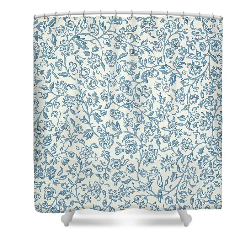 Merton Wallpaper Design Shower Curtain for Sale by William
