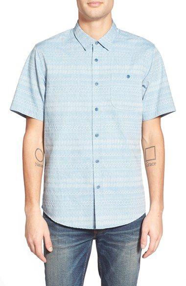 Ezekiel 'Wichita' Short Sleeve Jacquard Woven Shirt