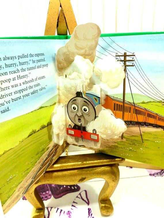 Thomas The Tank Engine Pop Up 4 Book Set Thomas By Kittystales