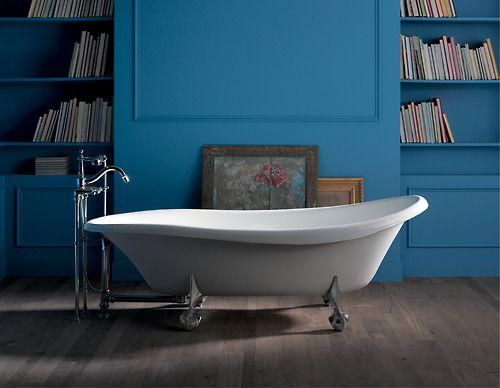 Soak In Luxury In A Beautiful Kohler Clawfoot Tub Free Standing