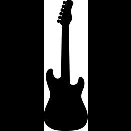 Music Silhouettes Music Silhouette Guitar Silhouette