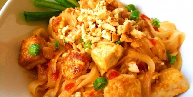 Easy vegan pad thai recipe vegan pad thai thai vegan and vegans easy vegan pad thai recipes food living peta forumfinder Image collections