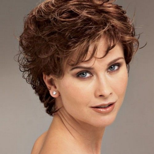 Short Haircuts For Women Over 60 With Thick Hair 66
