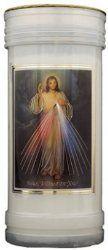 Divine Mercy Pillar Candle.