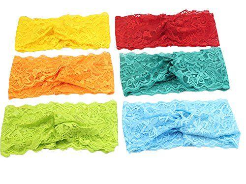 Xife® Baby Girls Lace Headbands Turbans Hair Wraps Soft Cotton Head Wrap (Lace 6pcs) XiFe http://www.amazon.com/dp/B0158EICRK/ref=cm_sw_r_pi_dp_Sscawb0MVYWTR