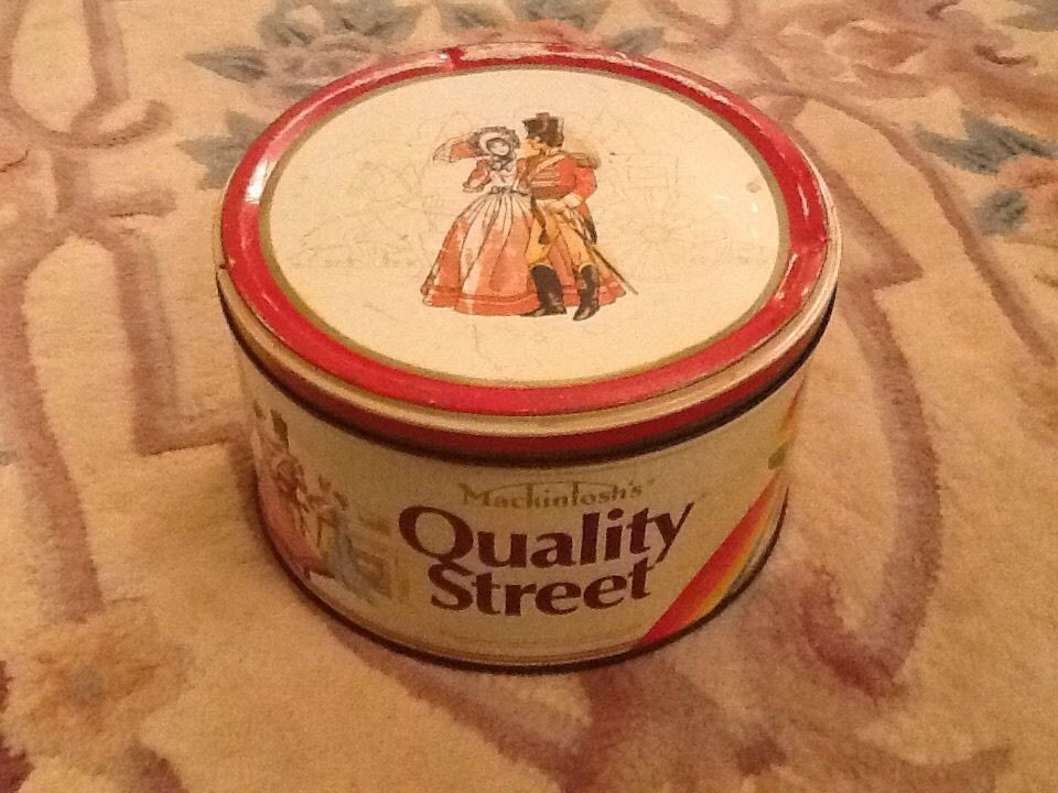 Vintage Quality Street Tin 5lb Mackintosh's 1989 in Collectables, Advertising, Food   eBay!