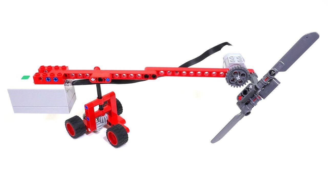 Fan Vehicle : LEGO Technic