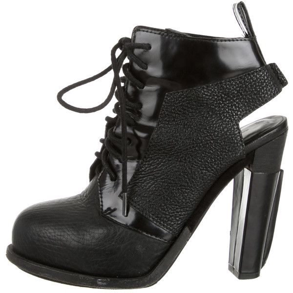 Pre-owned - Leather ankle boots Alexander Wang qBkt0dA