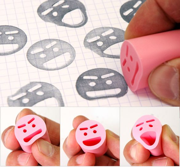 I love the flexibility!  These are only available in Japan I think, but I bet with a little ingenuity you could carve/mould your own.