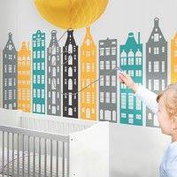 Pokoj Dziecka Naklejki Scienne Pakamera Pl Wynikow 40 Amsterdam Houses House Wall Wall Decals