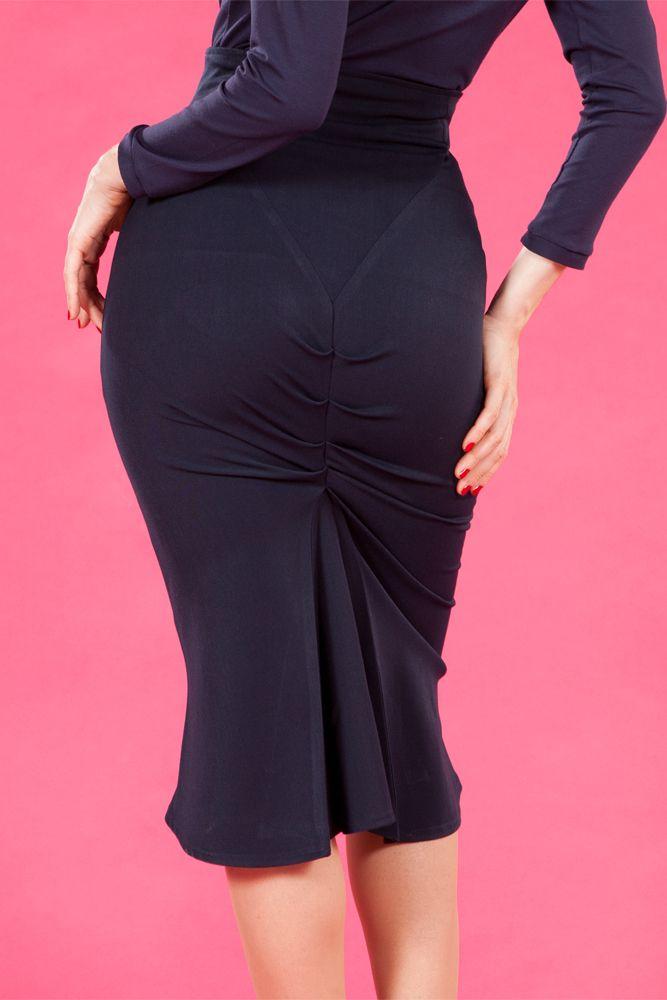 Mackenzie-Lee - Retro stretch skirt