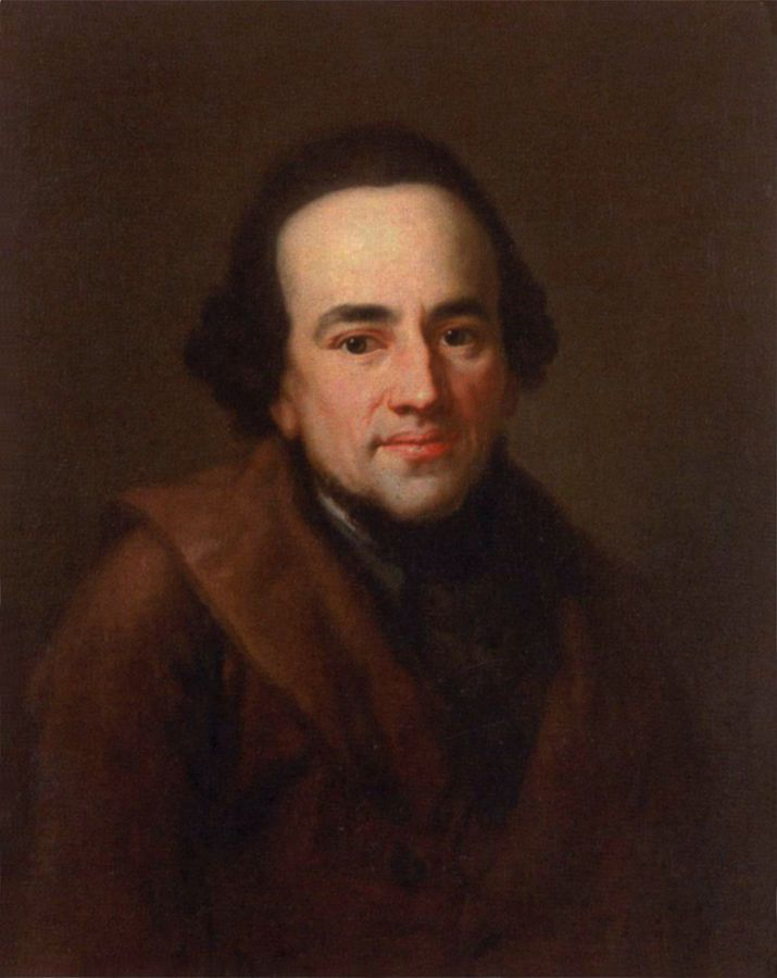 Anton Graff | Portrait of  Moses Mendelssohn, 1771 | Moses Mendelssohn (1729–1786) was a German philosopher to whose ideas the Haskalah, the 'Jewish enlightenment' of the eighteenth and nineteenth centuries, is indebted.
