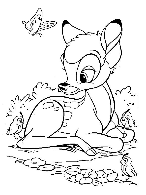 Disney Coloring Pages For Kids Printable Online Coloring