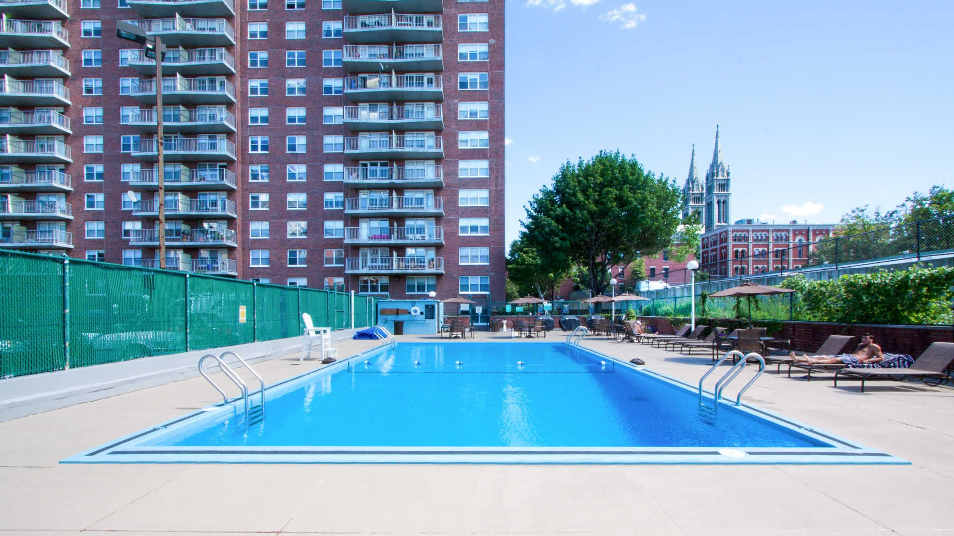 Beautiful Pool At This Boston Massachusetts Luxury Apartment Building Reach Out To Me If Interested In R Boston Real Estate Beautiful Pools Luxury Apartments
