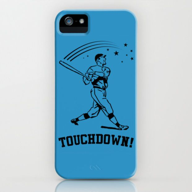 Touchdown iPhone & iPod Case by LookHUMAN