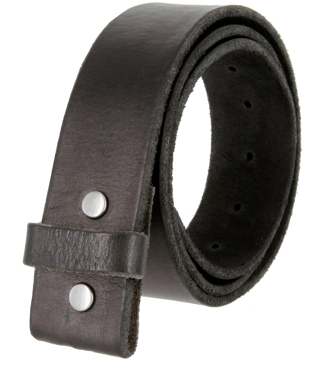 Solid One Piece Genuine Leather Belt Strap Without Slot Hole 1 1 2 Wide Genuine Leather Belt Custom Leather Belts Unisex Accessories