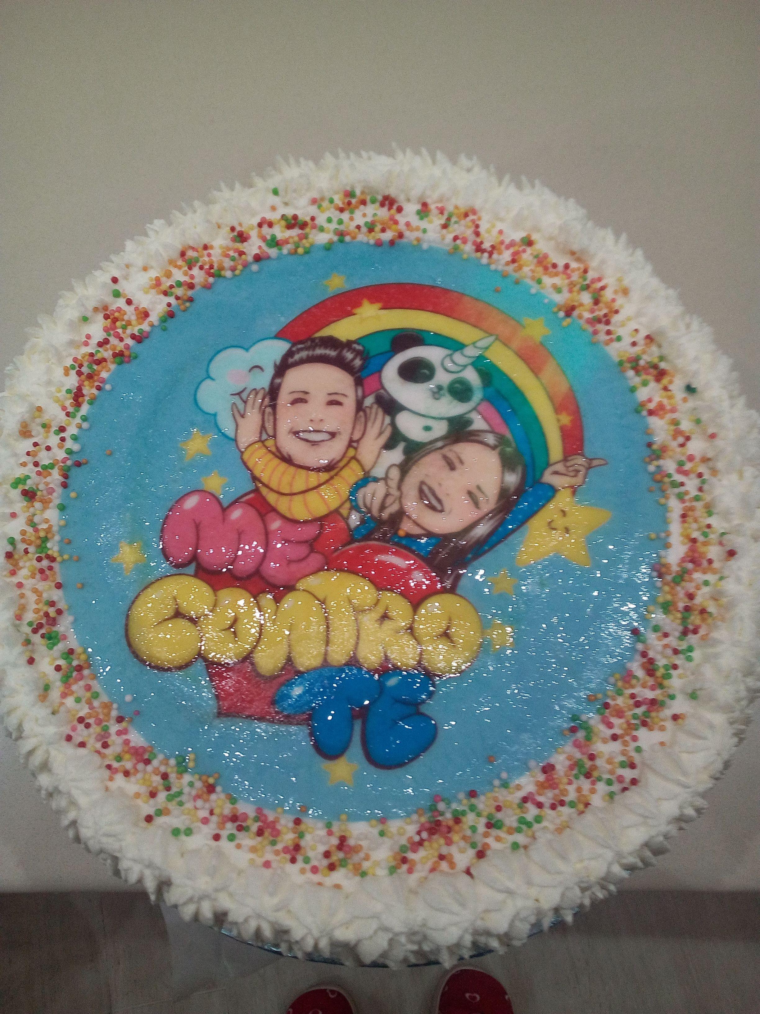 Torta Me Contro Te Feste Di Compleanno A Tema Feste Di