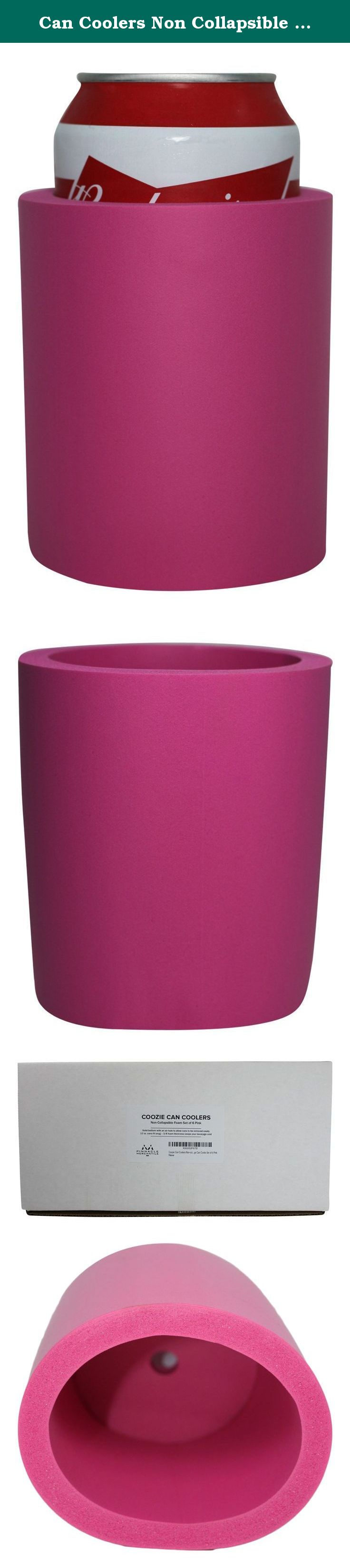 Can Coolers Non Collapsible Foam Beverage Can Insulators
