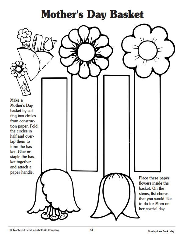 7 Easy To Make Bookmarks Perfect For Gift Giving Scholastic Com Mothers Day Baskets Mothers Day Crafts For Kids Mothers Day Crafts