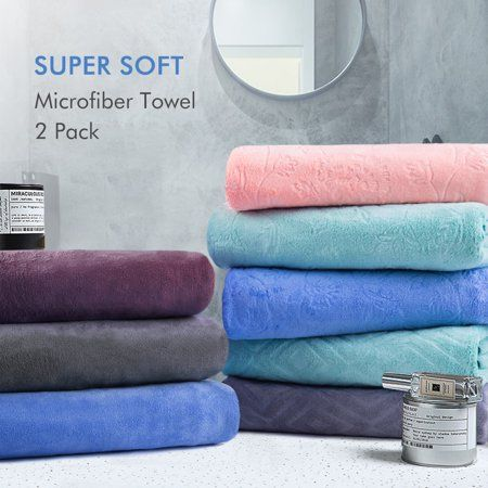 Home Microfiber Bath Towels Clean Microfiber Bath Towels