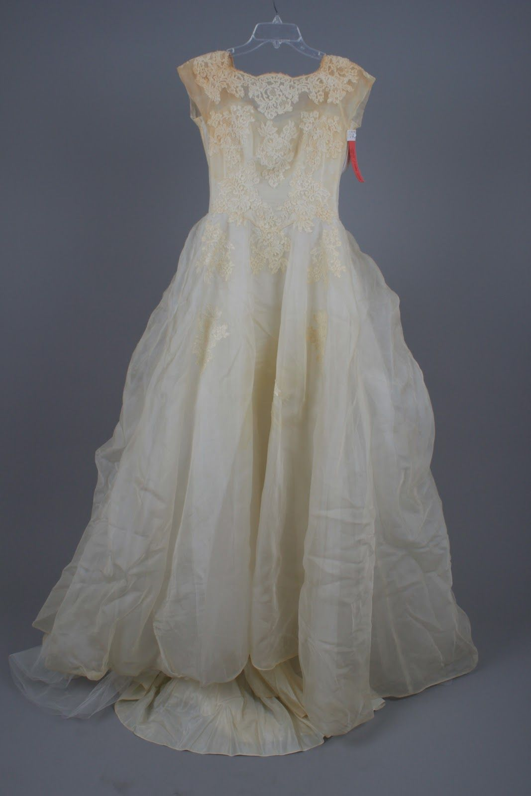 Restoring wedding dresses and family heirlooms! I read
