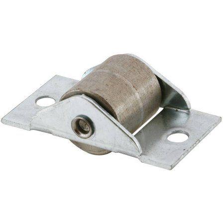 Slide Co 16764 Closet Door Roller 34 Inch Steel Wheel For 1 Inch