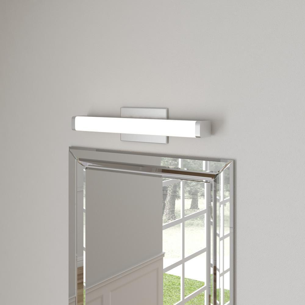 Lithonia Lighting Contemporary Square 2-Light Chrome 3K LED