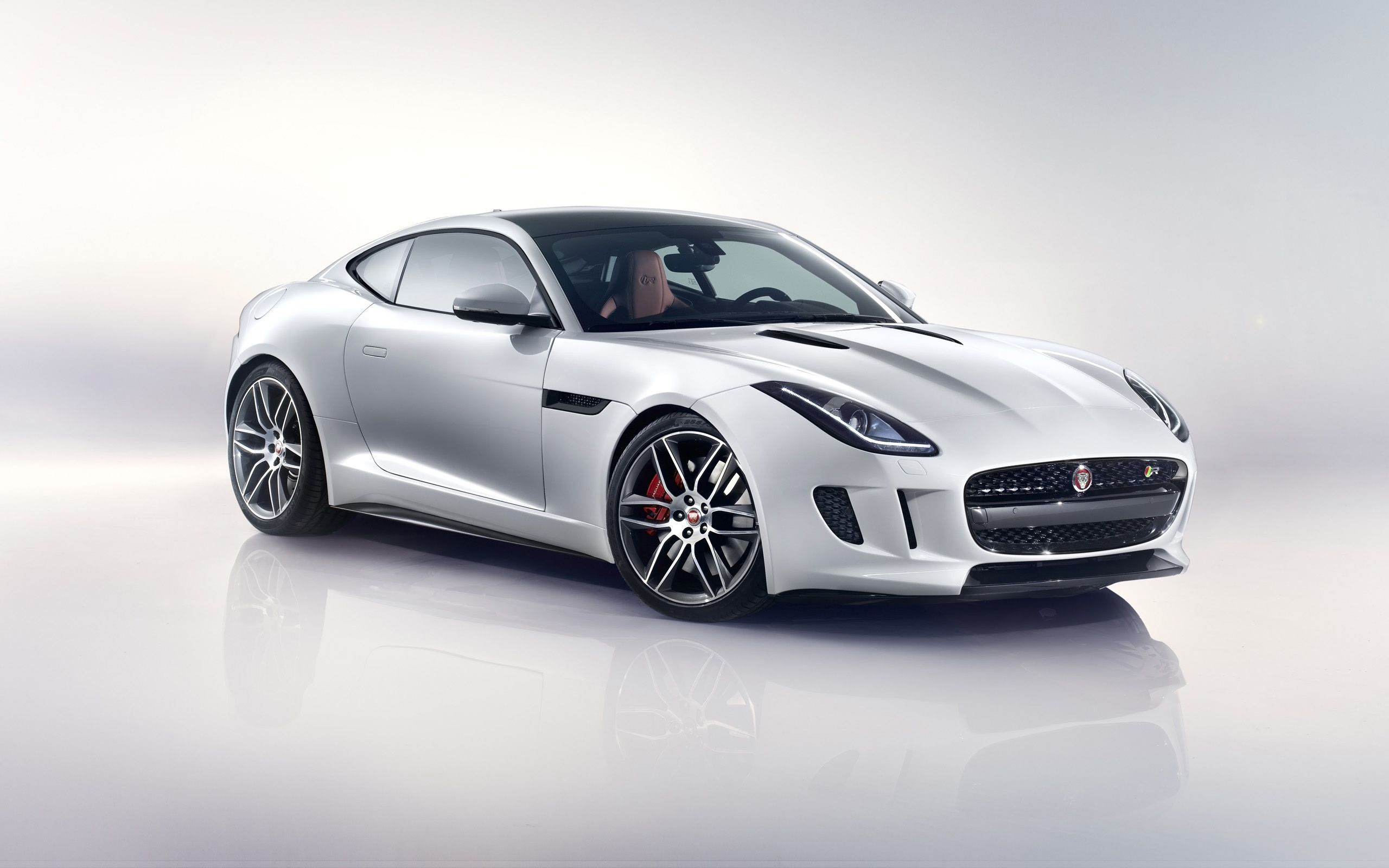 2014 Jaguar F Type R Coupe Polaris White Studio 1 2560x1600 (2560×1600)  | Car Wallpapers | Pinterest | Car Wallpapers, Cars And Hot Cars
