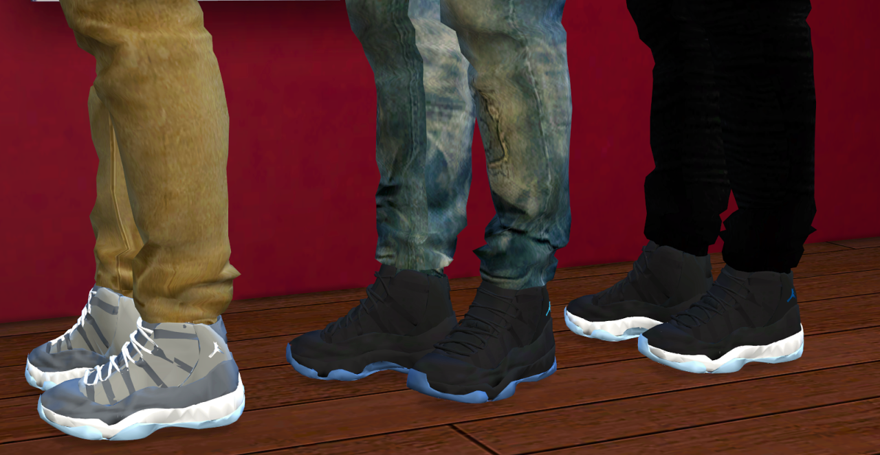 Sims  Mods Nike Shoes