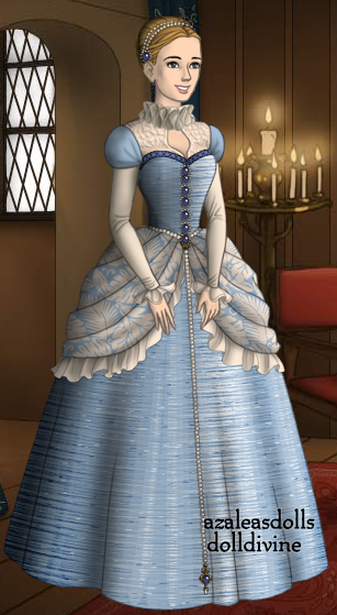 16th Century Cinderella Blue Ball Gown Blue Ball Gowns Anime Dress Historical Dresses