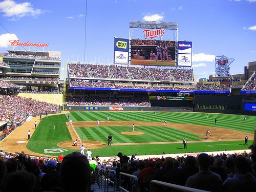 Target Field. Any Truth To The Rumors That The Twins Will