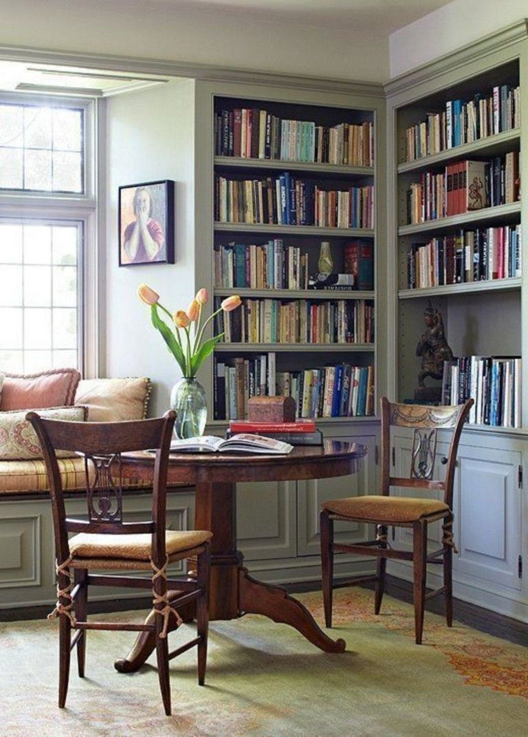 Dining Room Library Ideas: 55+ Current Masculine Dining Areas Decorating Ideas