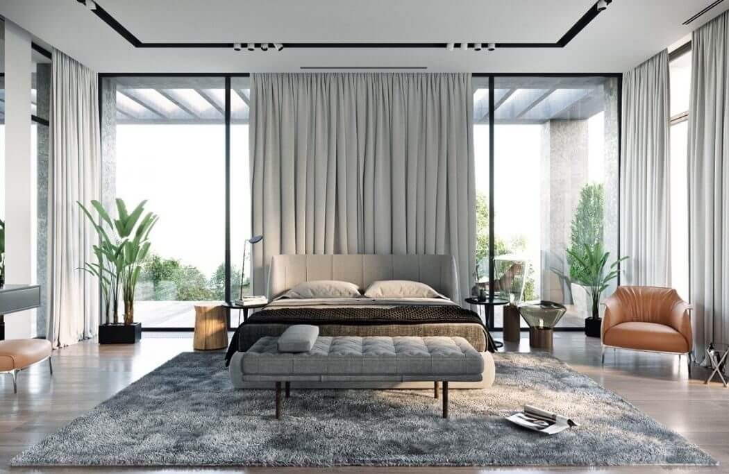Epingle Sur Chambre Moderne