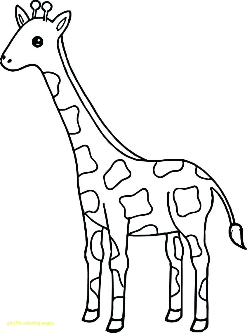 Giraffe Coloring Pages di 2020