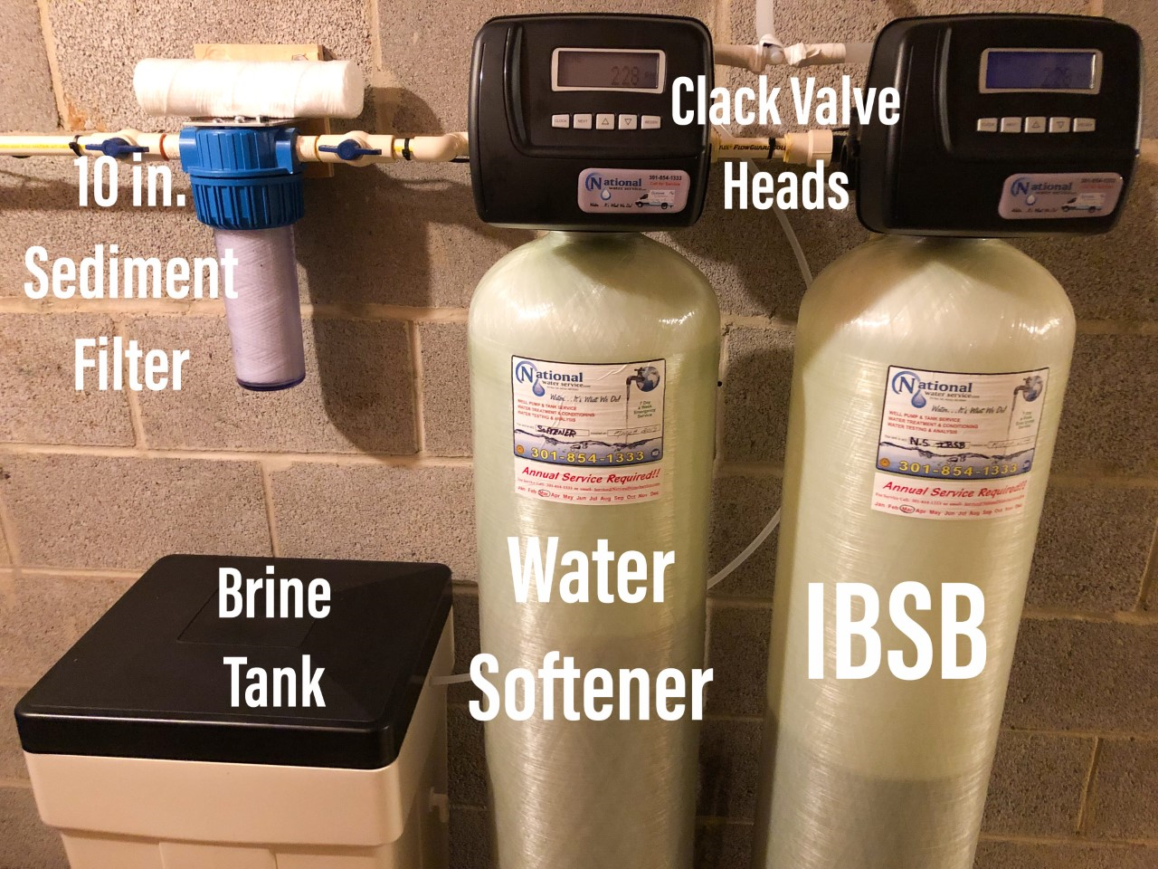 We Installed A Watersoftener Brine Tank For Hard Water A