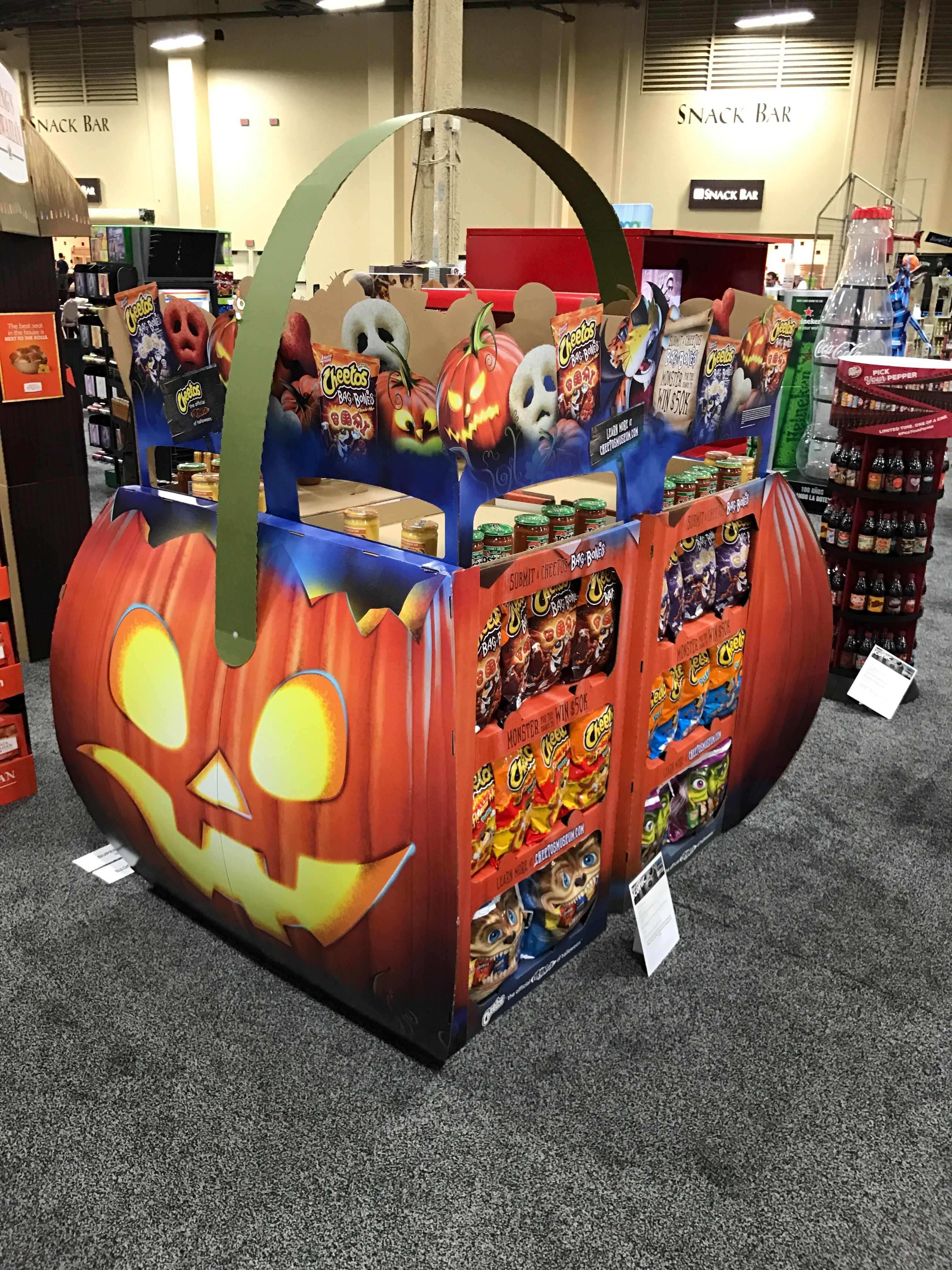 Looking To Purchase This Unit: Frito-Lay Halloween Free Standing Unit