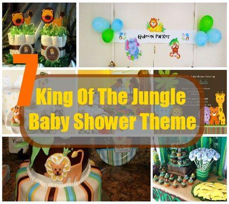 7 king of the jungle baby shower theme celebration pinterest