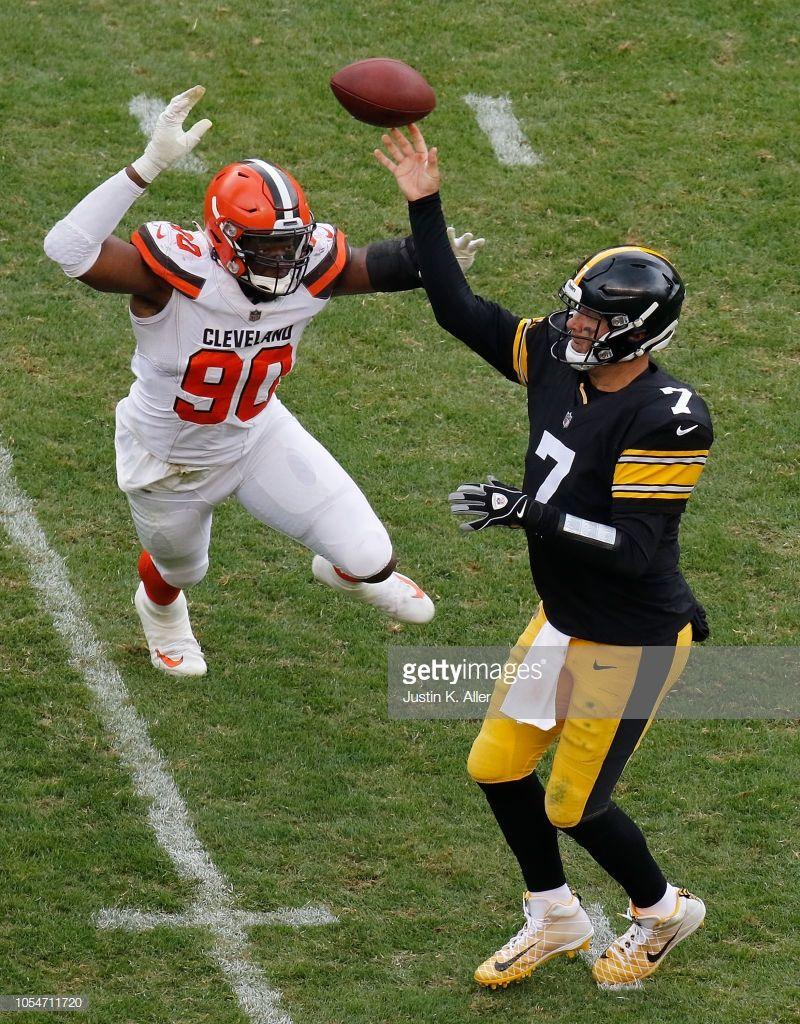 Ben Roethlisberger Of The Pittsburgh Steelers Attempts A Pass Under Pittsburgh Steelers Steelers Pittsburgh Steelers Wallpaper