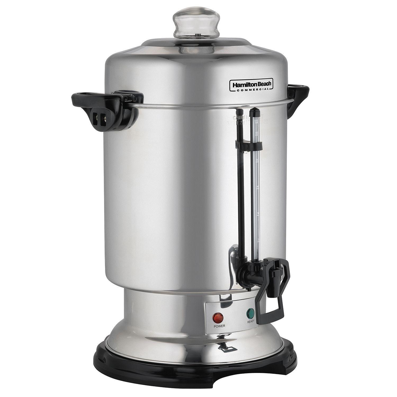 Hamilton Beach 60 Cup Coffee Urn Coffee Urn Stainless Steel