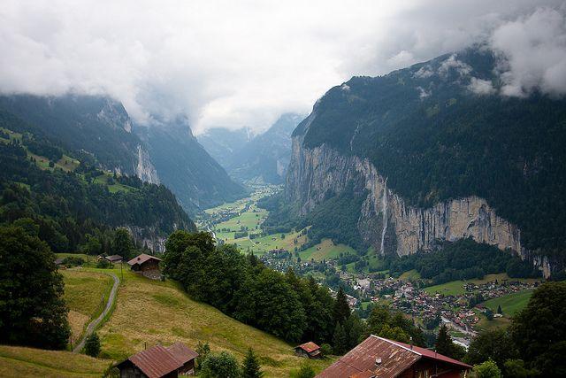 Lauterbrunnen Valley Switzerland | Flickr - Photo Sharing!