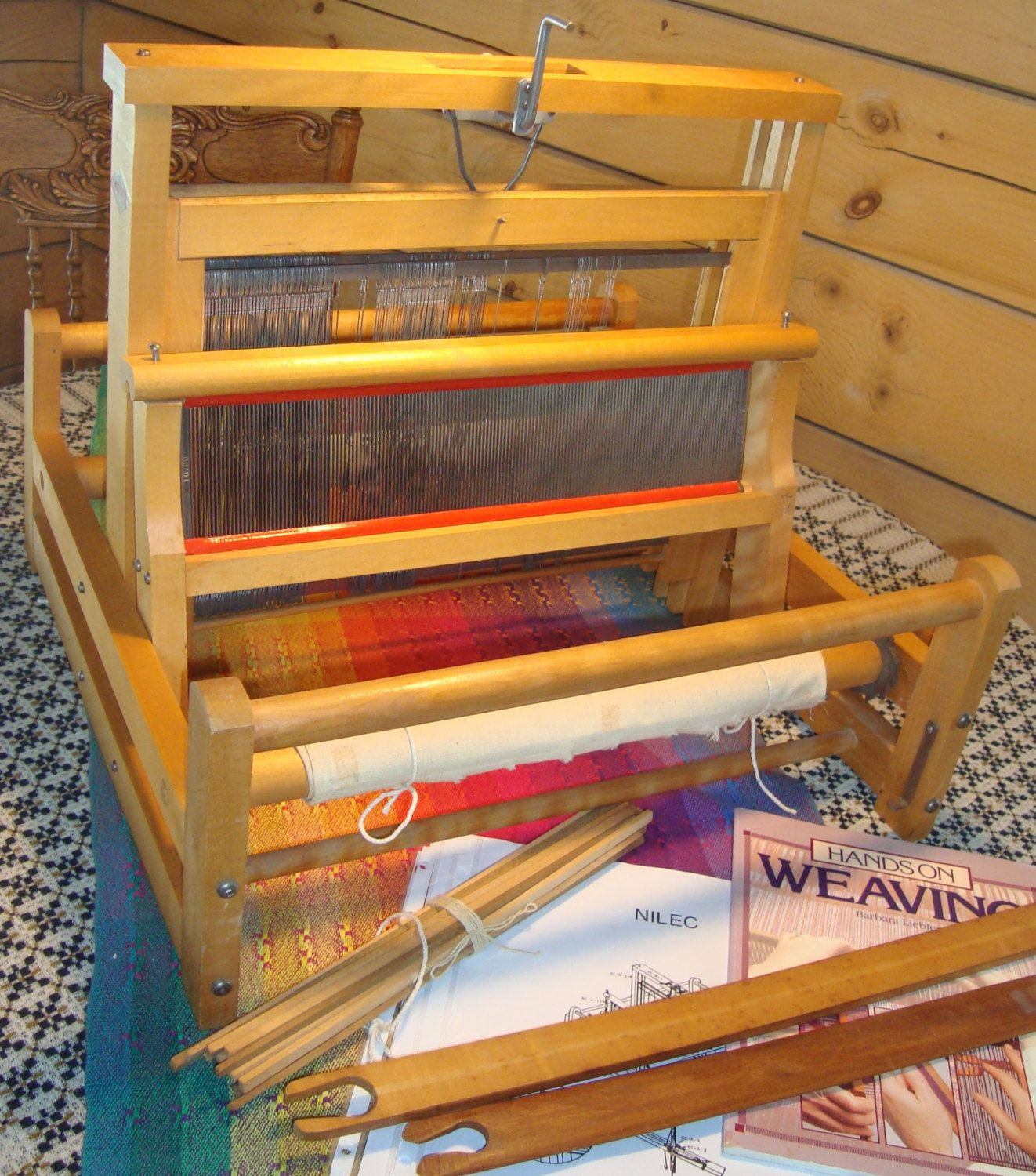Used Leclerc Nilec Table Loom 2 harness | Weaving, spinning ...