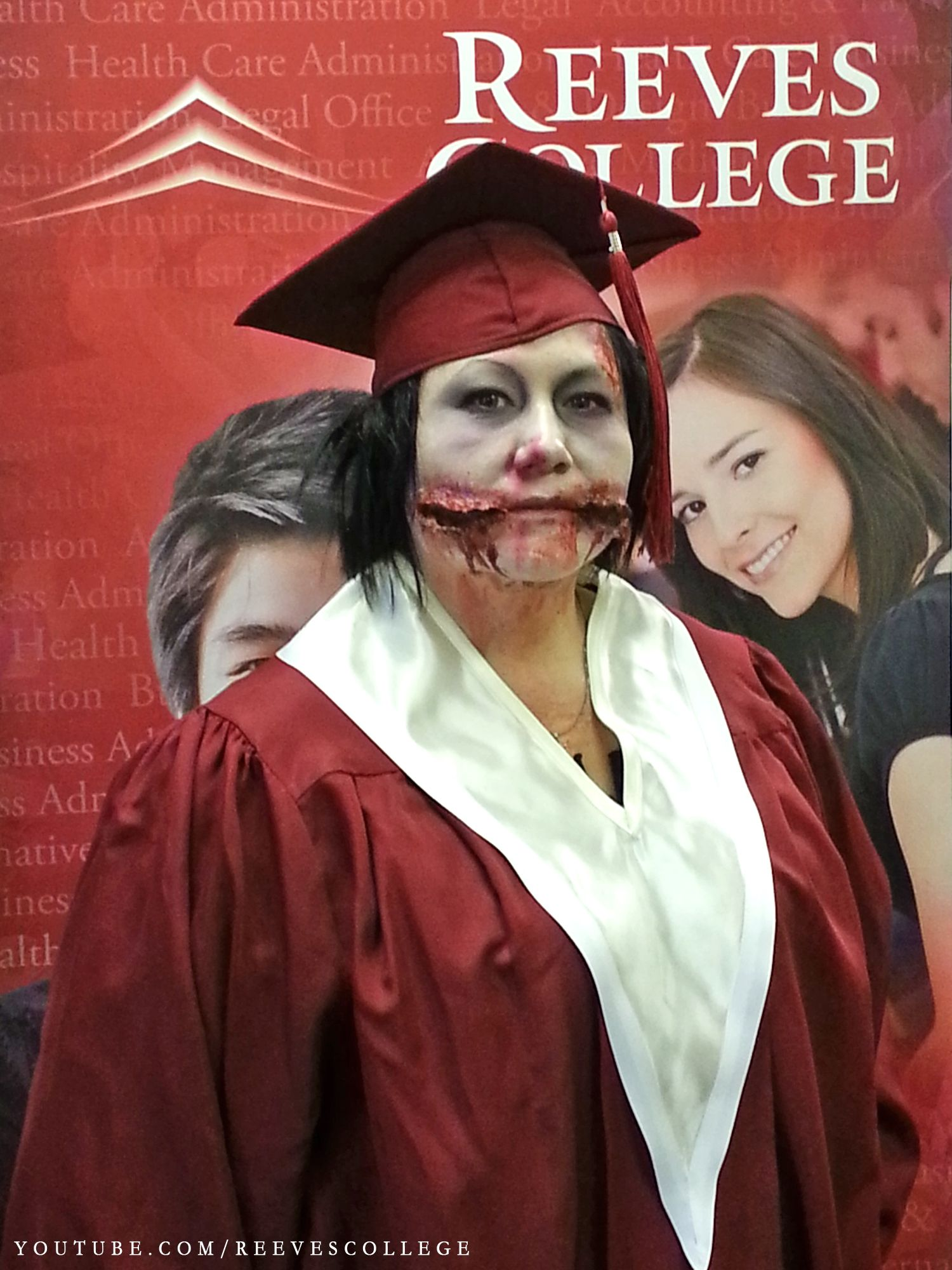 Reeves College Lloydminster Campus Students, Staff and Faculty in Halloween Costumes - Rhonda Campus Director Subscribe to Reeves College: http://www.youtube.com/subscription_center?add_user=ReevesCollege #ReevesCollege #Lloydminster #Campus #Students #Staff #Faculty #Halloween #Costumes #Rhonda #Campus #Director