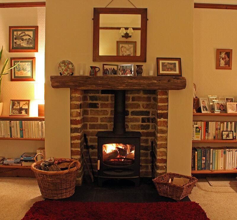 Scarlett Fireplaces on | Hearths, Slate and Beams